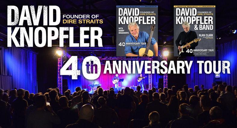 David Knopfler & Band – 40th Anniversary Tour 2017