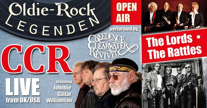 The Lords & The Rattles & CCR in Kamenz