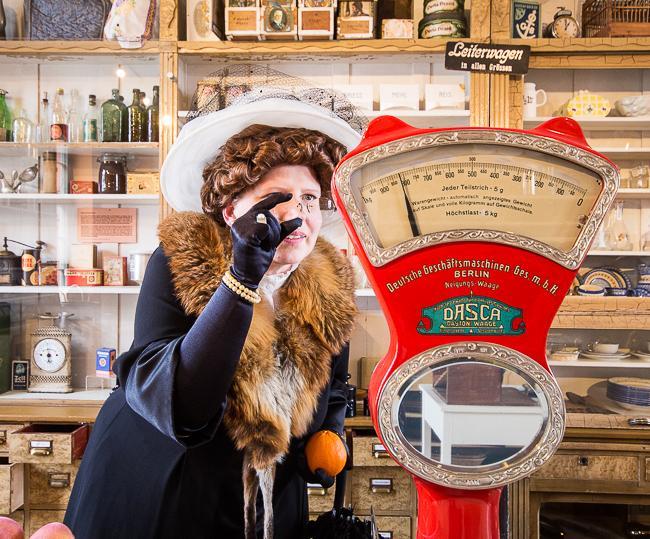 Frau Bürgermeisterin geht shoppen